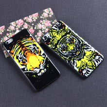 ODM OEM Customized Cell Mobile Smart Phone Common Tiger IMD Case For Iphone 4 4s 5