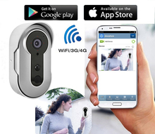 2017 Security Camera Door Bell Enabled Video Ring Wifi Doorbell for apartments