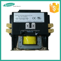 24V 120V 240V Coil Magnetic Electrical Contactor 2Pole 30A Air Conditioner Contactor CE UL