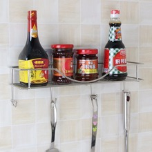 Wholesale Kitchen Storage Plastic Bottle Rack Spice Bottle Rack