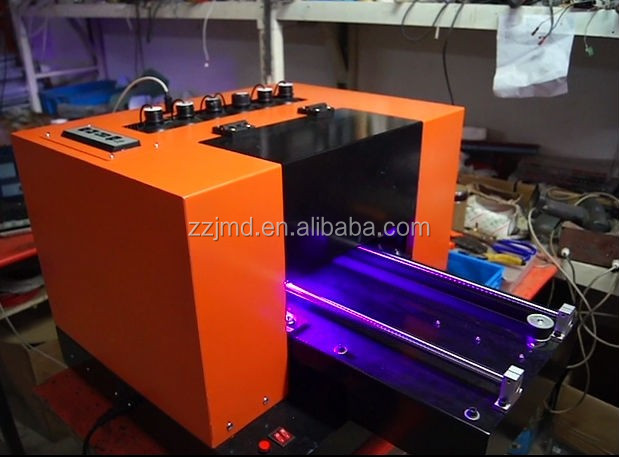 Top selling print A3 Flatbed Tabletop UV Printer/ High Quality Flatbed UV A3 Printer