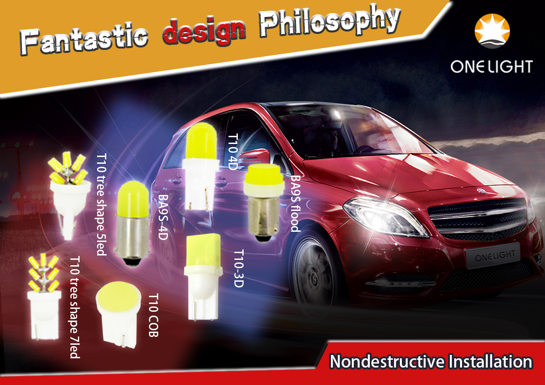 Accessories Car led lights VT6 H4 H7 headlight China Wholesale
