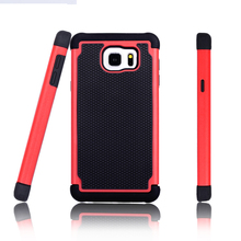 Hybrid combo case football textured hard case cell phone case for samsung galaxy note 5 mobile phone accessory