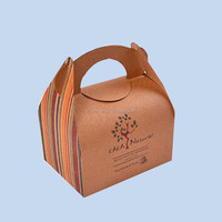Disposable takeaway custom logo printed paper fast food packaging