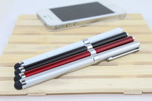 2 in 1 long ballpoint pen and stylus pen for iphone,ipad