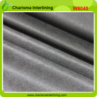 New design double dot fusible nonwoven interlining for suits