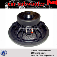 JLD audio speaker subwoofer with 4/8 Ohm dc 12v 300w rms power car woofer driver