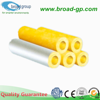 High Quality Glass Wool Pipe Insulation Material
