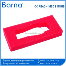 eco-friendly EVA foam insert/packaging,hot-seller hot/hard packing foam sponge,adaptive hardware packing foam sponge