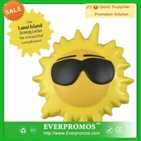 Cool Sun Stress Reliever with Logo for promotion and anti stress
