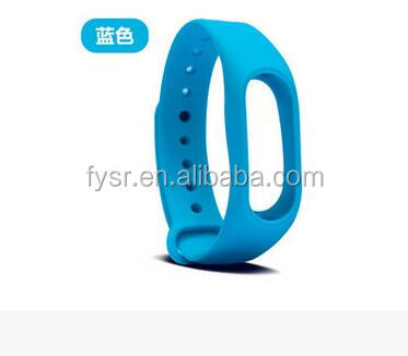 Colorful Replacement Wrist Strap for Xiaomi Mi Band Miband2 Bracelet,silicone bangle,silicone band