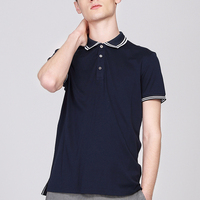 Online Shopping China Supplier Clothes Blank High Quality Men's 100% Cotton Polo t-shirt