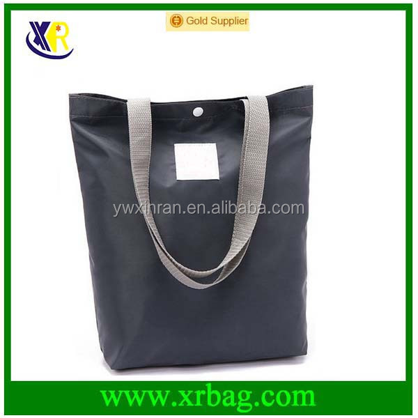 Eco-friendly Large Capacity Reusable Polyester Shopping Grocery Bags Tote Folding Supermarket Shopper Storage Handbags