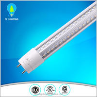 Fixture T8 led tube light 240cm 8ft, led tube fluorescent fixture with UL DLC certification