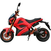 High Speed Two Wheel Automatic Electric Motorcycle