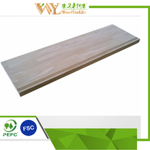 Naturally Desigened Stair Tread Wooden/Stair Step Rubberwood