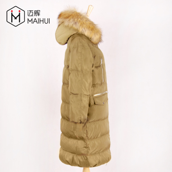 Exquisite Workmanship Updating Style Custom Nylon Quilted Jackets Winter Down Jacket