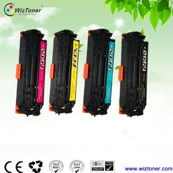 FREE SAMPLE!!!New Compatible color toner cartridge for hp 410/411/412/413 on alibaba wholesale