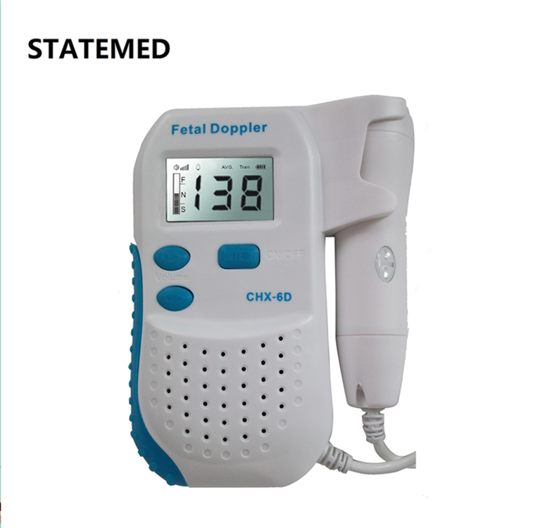 China CE approved hospital mini doppler fetal monitor factory price