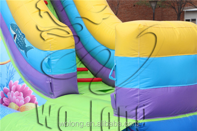 supply giant inflatable water park at best price