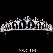Hot selling fashion bling crystal bridal tiaras and crowns