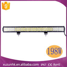 198W Aluminum Led Light Bar