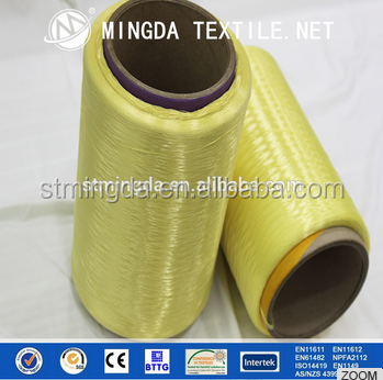 High strength bulletproof kevlar string/filament yarn aramid suit for protection body