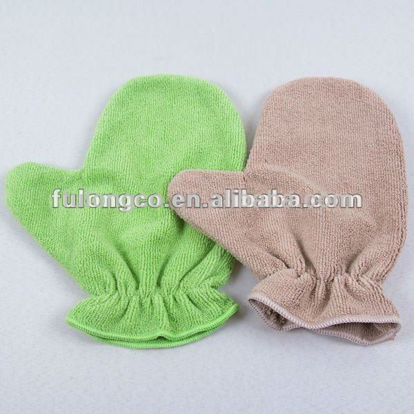 Microfiber Glove for multifunction cleaning/cheap/soft/super absorbent