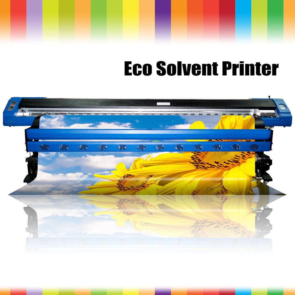 Excellent quality classical outdoor wit color eco solvent printer