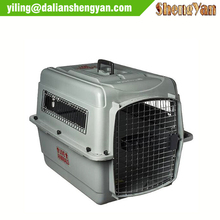 Plastic dog air kennel for sale