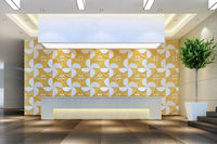 waterproof pvc coating wallpaper for decorate walls