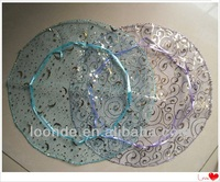 Hot stamping pattern Organza Circles