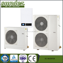 TOP SUPPLIER High quality air source DC inverter heat pump manufacturer, monoblok or split