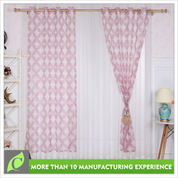 Window curtains design Fashion Printing magnetic curtain