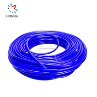 100% Silicone material Universal SAM Style 50M bule flexible silicone hose 3mm/4mm Silicone Vacuum Hose