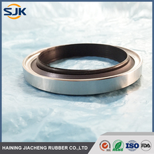 Hydraulic PTFE lip stainless steel rotary rod step seals