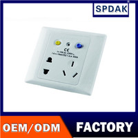 High speed 5 pin plug 2 port leakage protection with switch