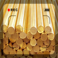 Decoration Pieces Brass 3604 5mm Copper Rods Round Bar