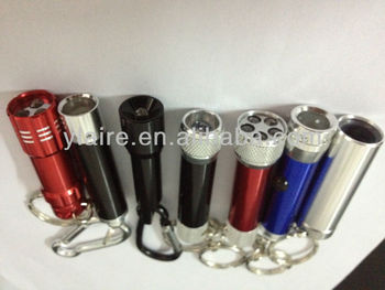 promotional mini cheap aluminum led flashlight