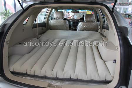 New design inflatable car travel airbed mattress for automobile
