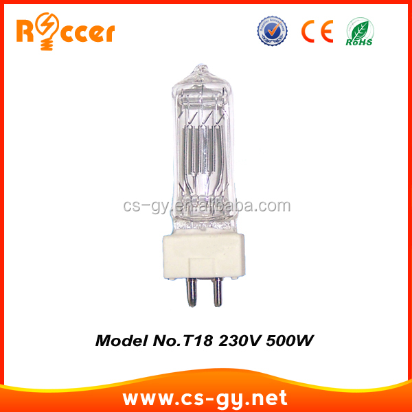 hot new products china suppliers special halogen bulb T18 500w