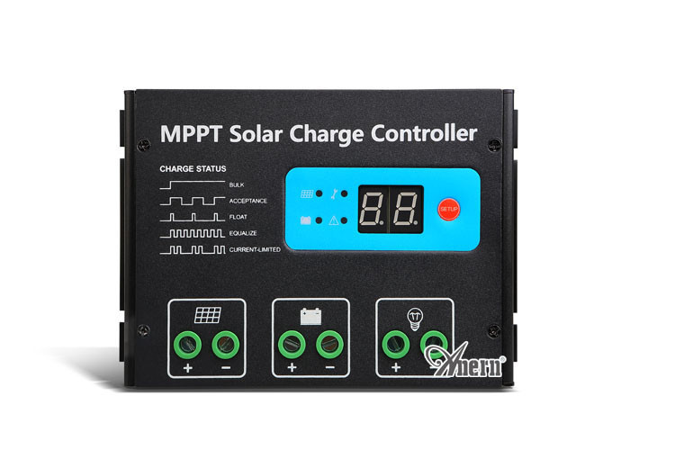 MPPT solar charge controller 30a 12V 24V with USB LCD display