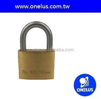 quality hospital bed hardened steel shackle brass padlock