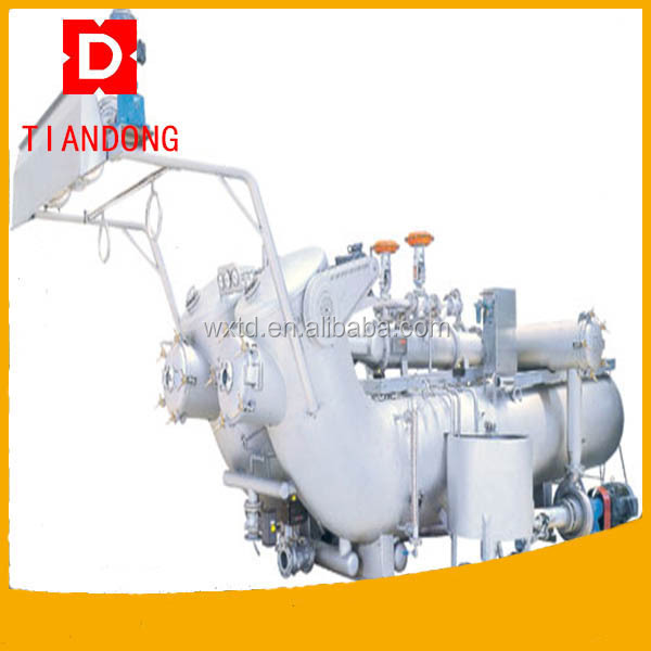 Engineers overseas machinery service factory sale dyeing machine plastic fabric dyeing machine