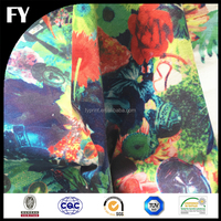 Custom digital textile printed cotton your own designs printed