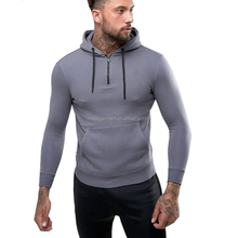 New Men's Sportswear Fitness Muscle Fit Pullover Custom GYM Hoodies