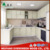 Woodern Kitchen Cabinet with white painting and shaker