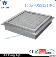 aluminium housing 120w low price outdoor led canopy light