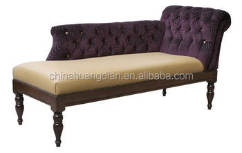 Antique european style chaise lounge chair for hotel room for Antique chaise lounge prices