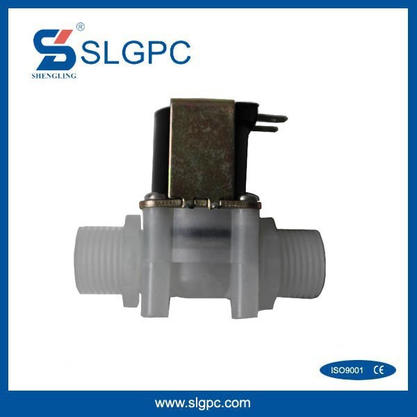 Made in China low price plastic 1/2 inch pneumatic valves impulse 6v dc solenoid valve